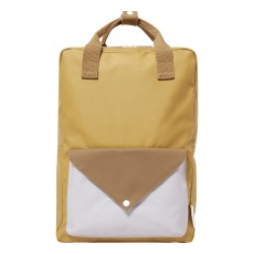 product-Sticky Lemon Tri-coloured Backpack L