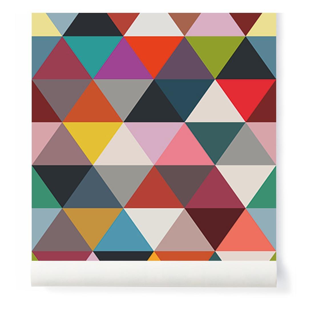 Mega: Tapete-Mosaik-Dreieck 182x280 Cm- 2