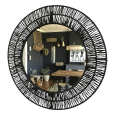 product-Cosydar Mirror in raffia
