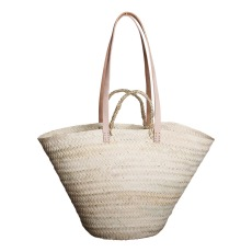 product-Cosydar Double handle basket in leather
