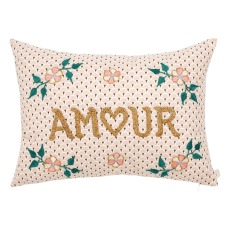 product-CSAO Coussin brodé Amour - CSAO x Smallable