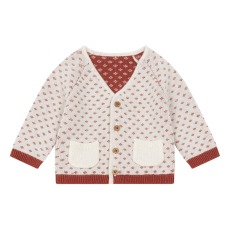 product-Lab - La Petite Collection Cardigan cotone et cachemire nonno
