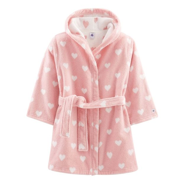 best shoes elegant and graceful new york Cupidon Terry Cloth Robe Pink