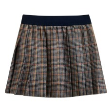 product-Bellerose Ley Prince Wales Check Pleated Skirt