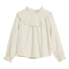 product-Bellerose Under Embroidered Ruffled Blouse