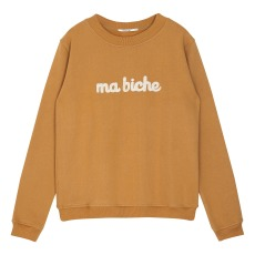 product-Emile et Ida Ma Biche Embroidered Sweatshirt