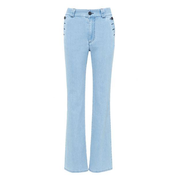 86557dfab2 Flared Jeans Light blue