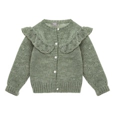 product-Tocoto Vintage Cardigan Volants