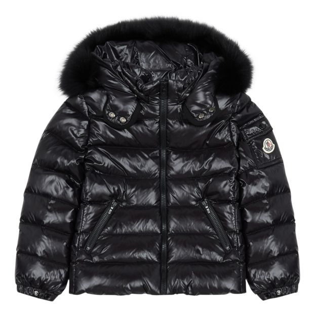 bdc402075 Bady Faux Fur Down Jacket Black