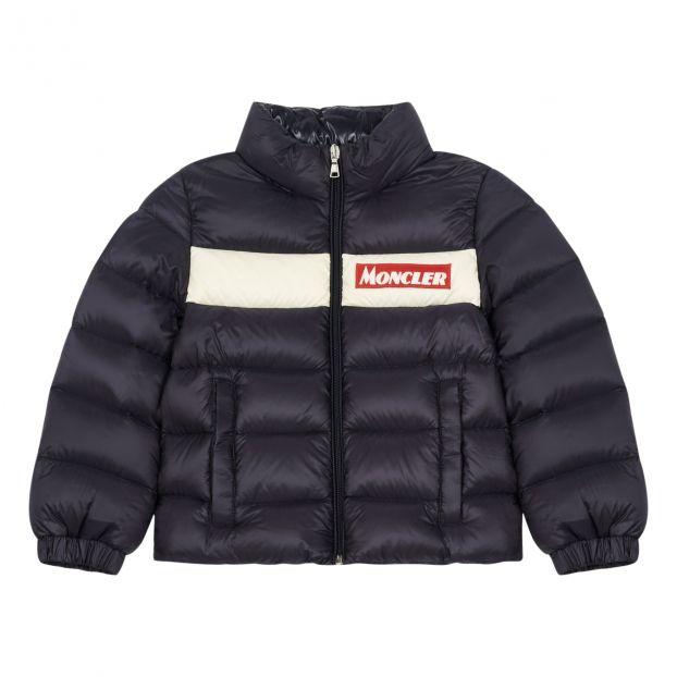 46cb62737 Servieres down jacket Navy blue
