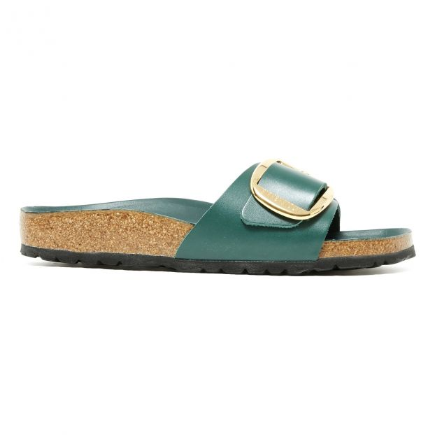 new arrival 0e4e0 4db49 Madrid Big Buckle Sandals - Women's Collection Green