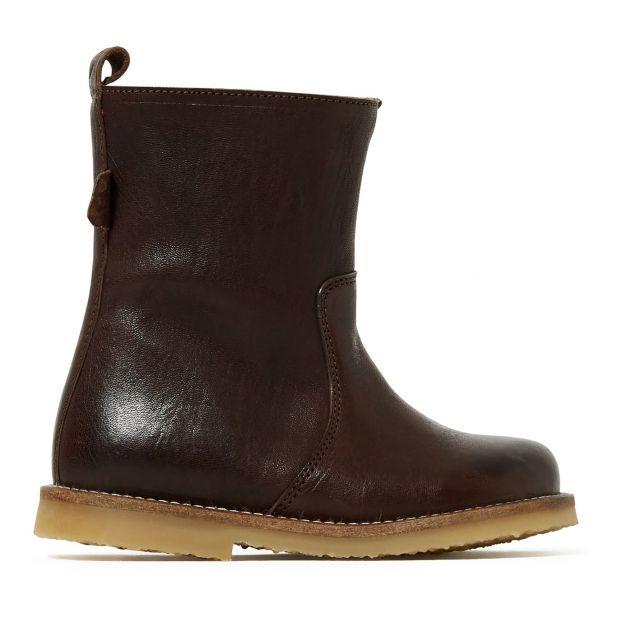 neueste starke verpackung vielfältig Stile Gefütterte Stiefel Braun