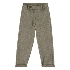 product-Simple Kids Draco Houndstooth Trousers