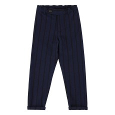 product-Simple Kids Draco Striped Trousers