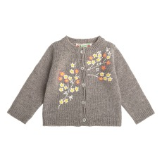 product-Bonpoint Embroidered Baby Cardigan