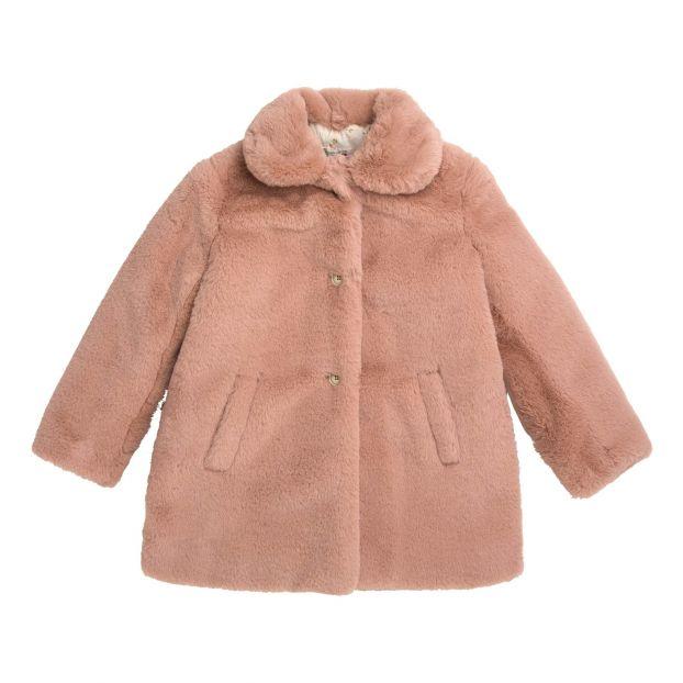 feinste Auswahl authentische Qualität Ruf zuerst Mantel Fellimitat Maisie Rosa
