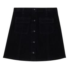 product-Les Coyotes de Paris Molly Velvet Button Skirt