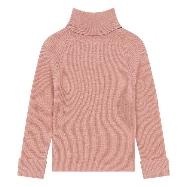 Pullover aus extra feiner Wolle Kreta Rosa