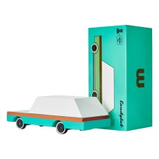product-Candylab Teal Wagon - Wooden Toy