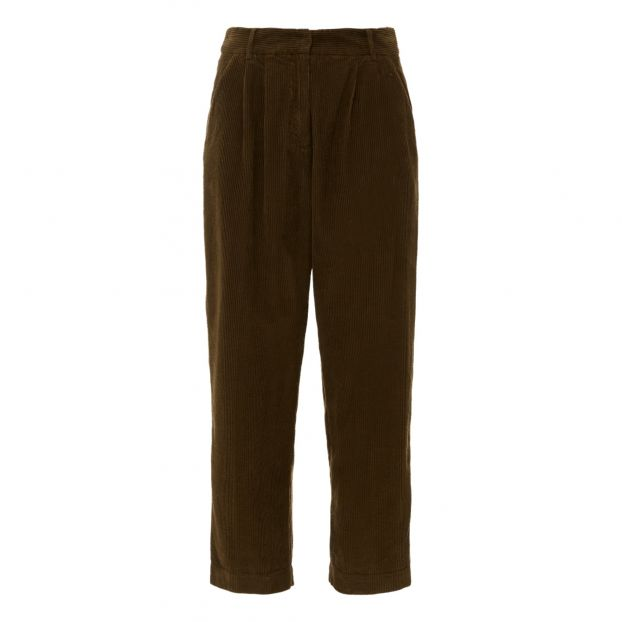 l'ultimo d16bd 8beb2 Pantaloni in velluto a coste Verde oliva