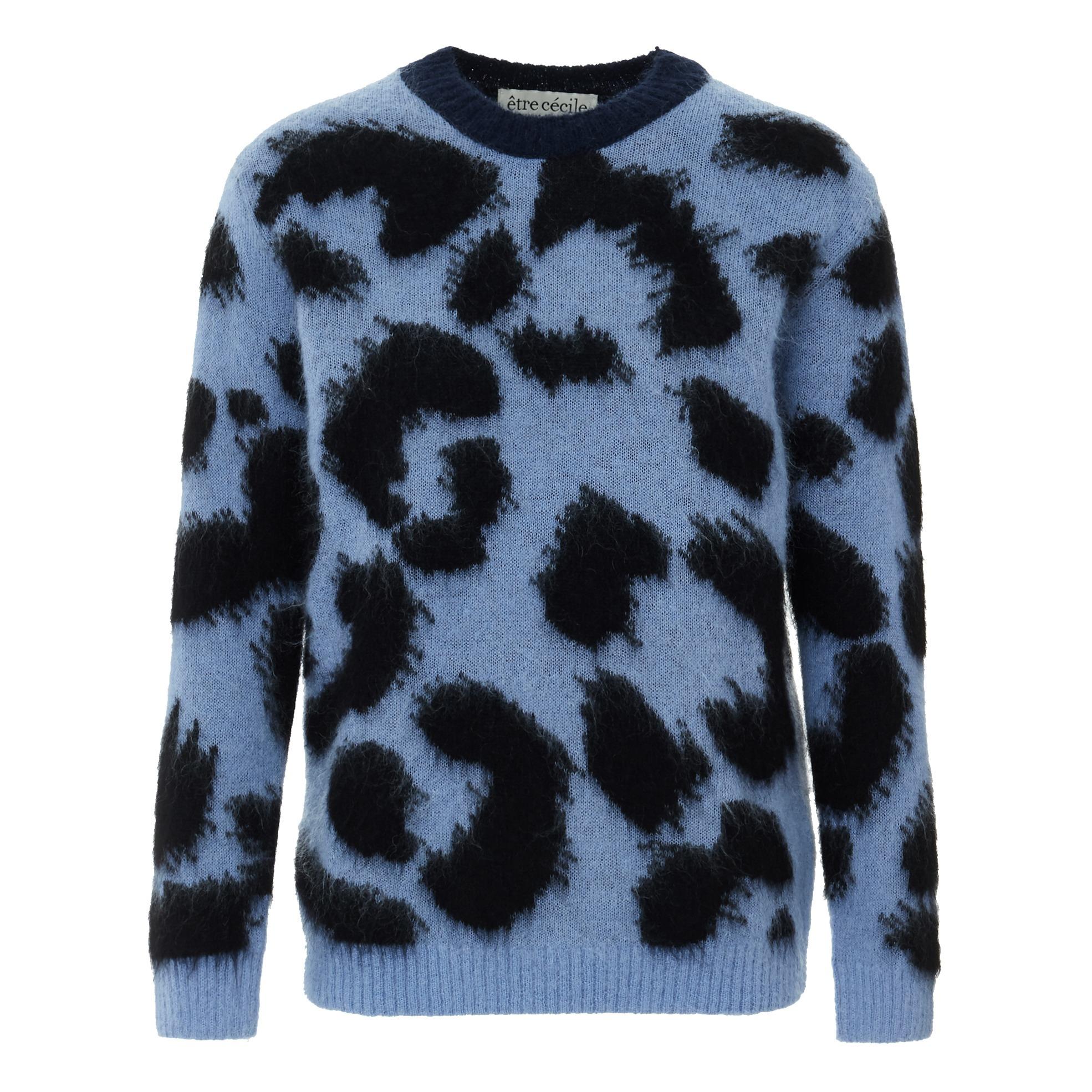 Pullover Leopard Boxy Empfehlung, Gelegenheit 9680