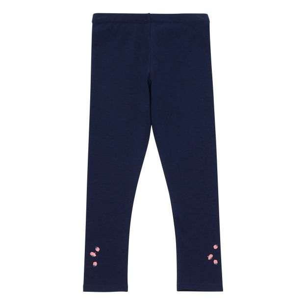 2e2ba5c6b71ffb Strawberry Leggings Indigo blue Billieblush Fashion Children