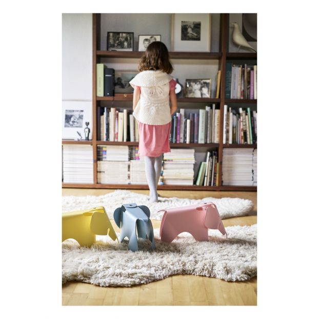 Pleasing Eames Small Elephant Stool White Vitra Design Children Gmtry Best Dining Table And Chair Ideas Images Gmtryco