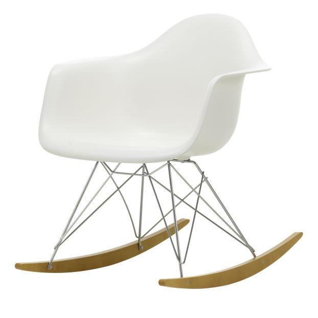 Awe Inspiring Eames Rar Rocking Armchair Rod Base Chair Chrome Base Charles Ray Eames 1950 White Inzonedesignstudio Interior Chair Design Inzonedesignstudiocom