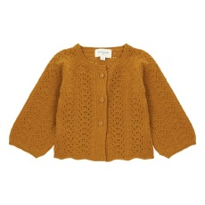 product-Louis Louise Cherry Openwork Cardigan