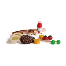 product-Erzi Barbecue Wooden Toy Set