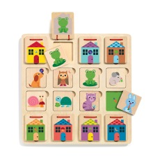 product-Djeco Wooden Cabanimo puzzle