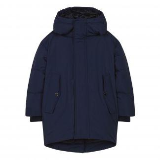 quality design bf960 177a2 Piumino trapuntato oversize Snowdoll Blu marino