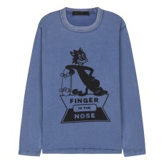 product-Finger in the nose Nico Skate Cat T-Shirt