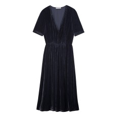 product-Sessun Longdance Velvet Dress
