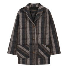 product-Finger in the nose Manteau Oversize Carreaux Christy