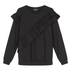 product-Designers Remix Girls Sandie Ruffle Sweatshirt