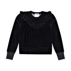 product-Scotch & Soda Sweat Velours Pied de Poule