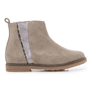 Boots Trip Fringe Taupe