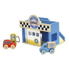 product-Vilac Vilacity Wooden Car Garage Toy