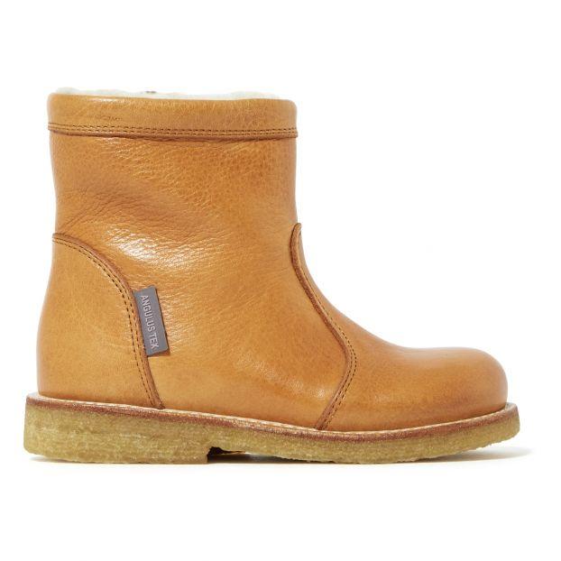 heiße Produkte klassischer Stil Spielraum Gefütterte Stiefel Kamelbraun