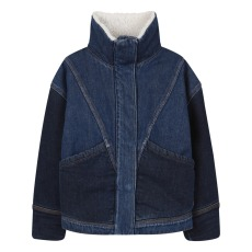 product-Finger in the nose Giacca jean zip imbottita sherpa flyer