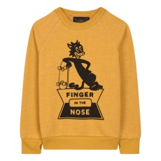 product-Finger in the nose Skate Cat Hank Sweatshirt