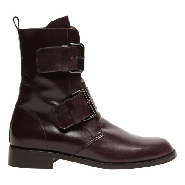 les ventes chaudes magasin discount en gros Emerance Boots Burgundy