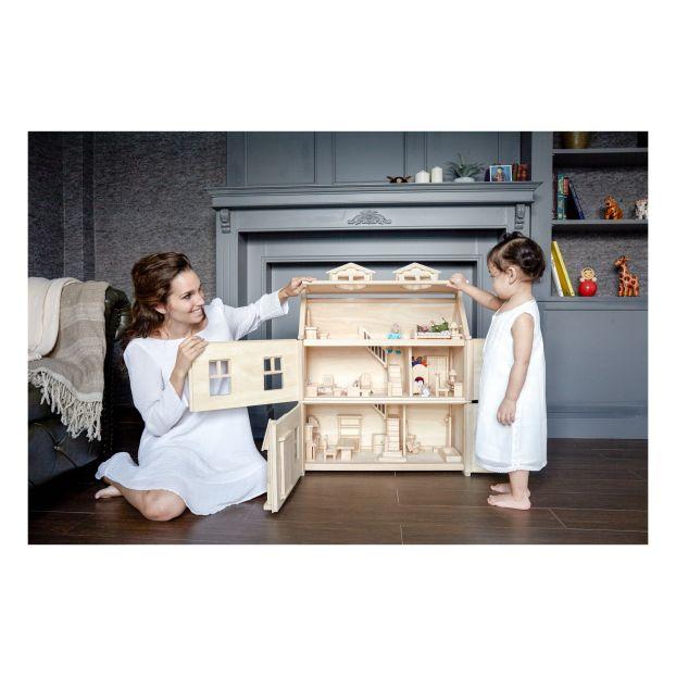 Maison Victorienne En Bois Plan Toys Jouet Et Loisir Enfant