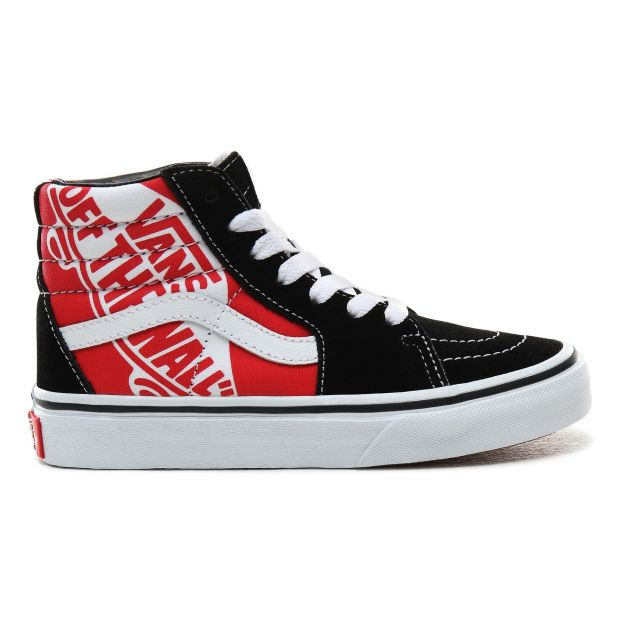SK8,Hi Suede High,Top Trainers Red
