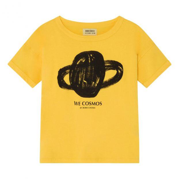 b23c63c32 Camiseta Algodón Orgánico Planeta Amarillo