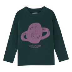 product-Bobo Choses T-shirt pianeta in cotone biologico ML