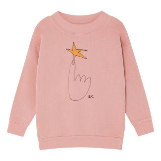 5a0073d79 Falda Larga de Rayas Jersey Burdeos Bobo Choses Moda Infantil
