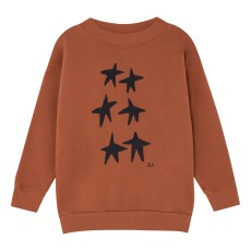 product-Bobo Choses Sweat Coton Bio Etoiles