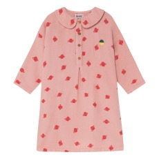 product-Bobo Choses Planets Organic Cotton Buttoned Dress